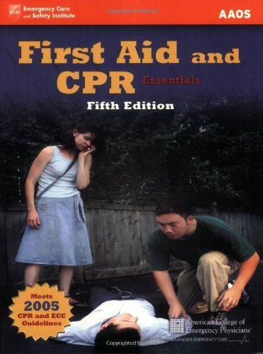 First Aid and CPR Essentials  5th 2007 (Revised) edition cover