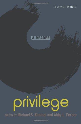 Privilege A Reader 3rd 2010 edition cover