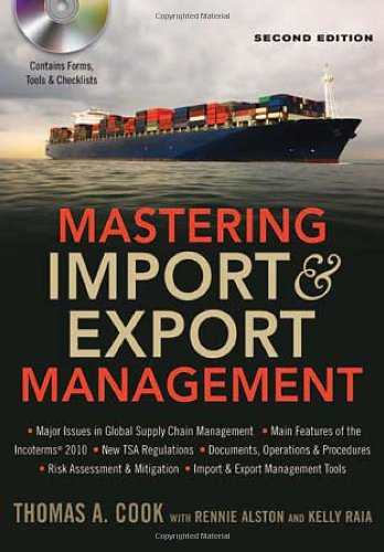 Mastering Import and Export Management  2nd 2012 edition cover