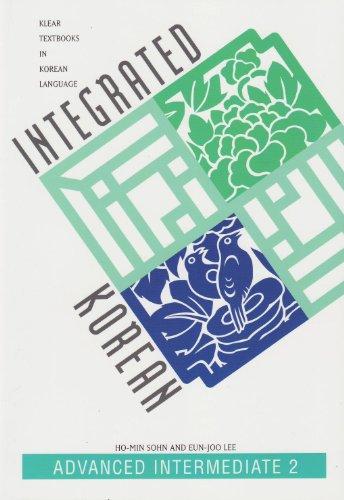 Integrated Korean Advanced Intermediate 2  2002 edition cover