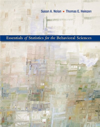 Essentials of Statistics for the Behavioral Sciences   2011 edition cover
