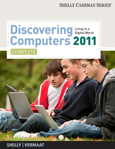Discovering Computers 2011   2011 edition cover