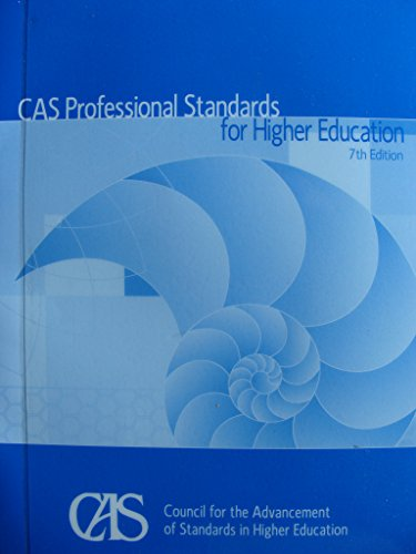 CAS Professional Standards for Higher Education 7th edition cover