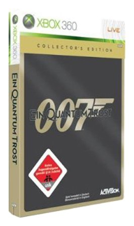James Bond - Ein Quantum Trost (Collectors Edition) Xbox 360 artwork