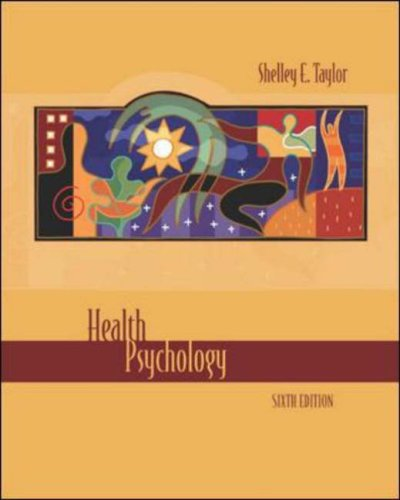 Health Psychology  6th 2006 (Revised) 9780073107264 Front Cover