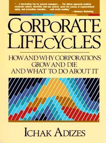 Corporate Lifecycles   1988 edition cover