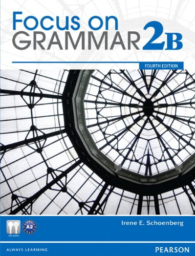 Focus on Grammar Student Book Split 2B  4th 2012 edition cover