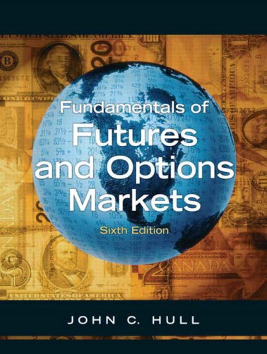 Fundamentals of Options and Futures  6th 2008 9780132242264 Front Cover