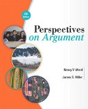 Perspectives on Argument Plus MyWritingLab with Pearson EText -- Access Card Package  8th 2015 edition cover