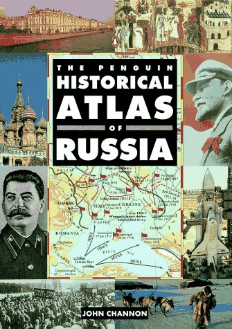 Penguin Historical Atlas of Russia   1995 edition cover