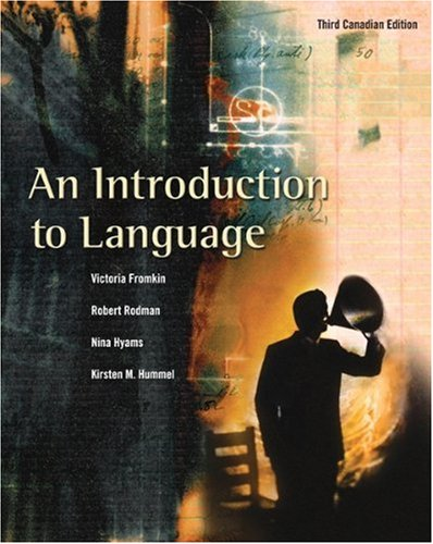 INTRO.TO LANGUAGE >CANADIAN ED 3rd 2006 edition cover