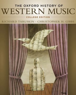 Oxford Anthology of Western Music Vol 2 The Mid-Eighteenth Century of the Late Nineteenth Century N/A edition cover
