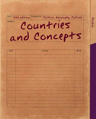Countries and Concepts Politics, Geography, Culture 12th 2013 edition cover