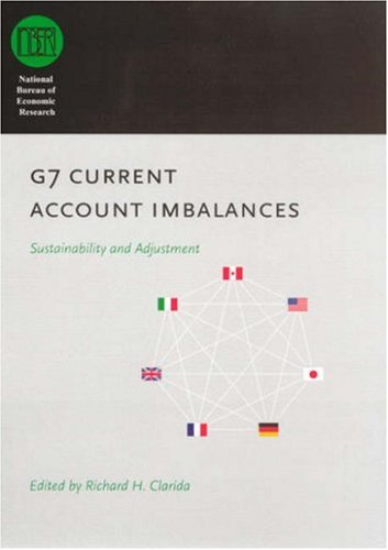 G7 Current Account Imbalances Sustainability and Adjustment  2007 9780226107264 Front Cover