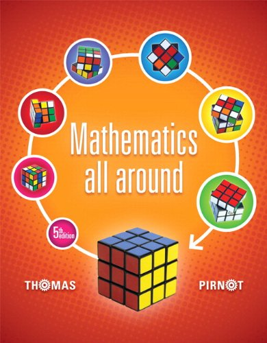 Mathematics All Around Plus NEW MyMathLab with Pearson EText -- Access Card Package  5th 2014 edition cover