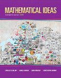Mathematical Ideas Plus MyMathLab -- Access Card Package  13th 2016 edition cover