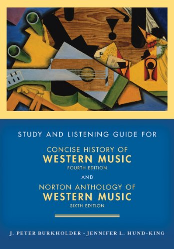 Concise History of Western Music  4th (Guide (Pupil's)) edition cover