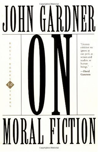 On Moral Fiction  N/A edition cover