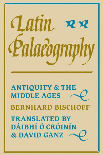 Latin Palaeography Antiquity and the Middle Ages  1990 edition cover