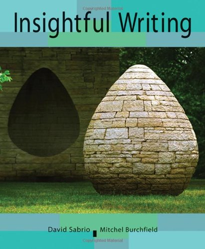 Insightful Writing A Process Rhetoric with Readings  2009 edition cover