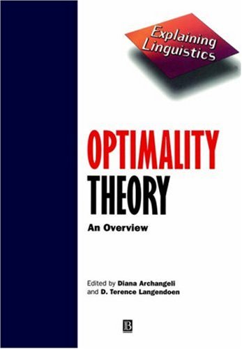Optimality Theory An Overview  1997 edition cover