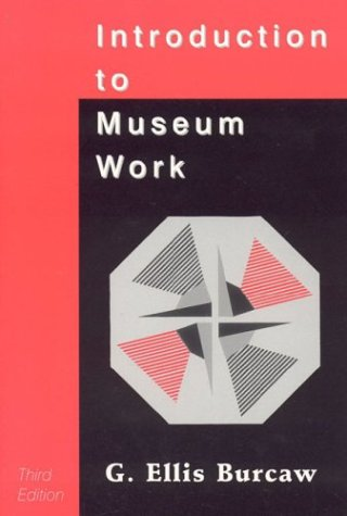 Introduction to Museum Work  3rd 1997 edition cover