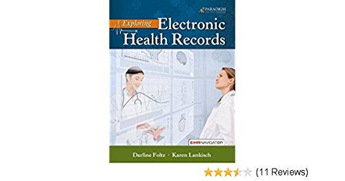 EXPLORING ELECTRONIC HEALTH...-ACCESS   N/A 9780763857264 Front Cover