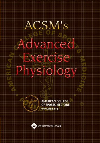 ACSM's Advanced Exercise Physiology   2006 edition cover