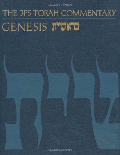 JPS Torah Commentary - Genesis   1989 edition cover