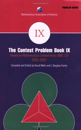 Contest Problem American Mathematics Competitions (AMC 12) 2001-2007 Contests  2008 edition cover