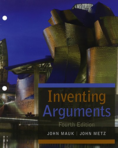 Inventing Arguments:   2015 edition cover