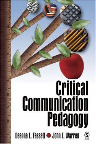 Critical Communication Pedagogy   2007 edition cover