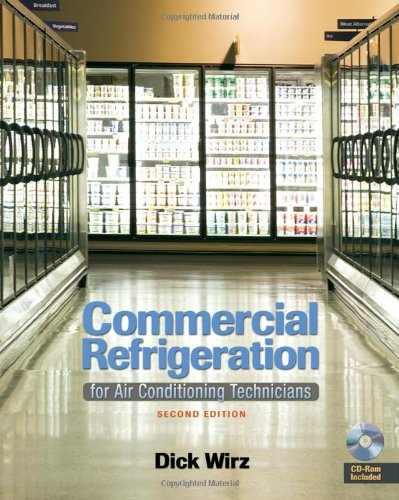 Commercial Refrigeration For Air Conditioning Technicians 2nd 2010 edition cover