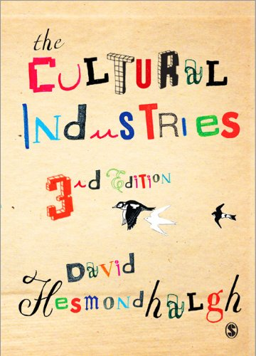 Cultural Industries  3rd 2013 edition cover