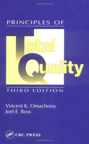 Principles of Total Quality  3rd 2004 (Revised) edition cover
