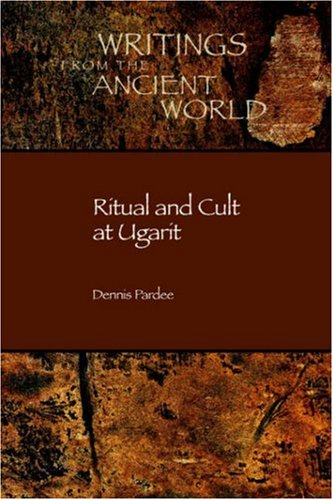 Ritual and Cult at Ugarit   2002 edition cover