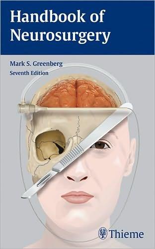 Handbook of Neurosurgery  7th 2010 edition cover