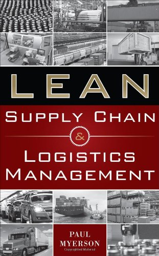 Lean Supply Chain and Logistics Management   2012 edition cover