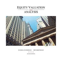 Equity Valuation and Analysis w/ EVal 2nd 2007 edition cover