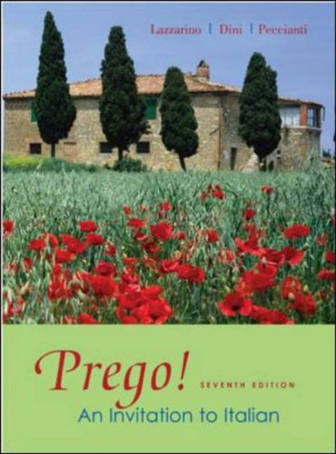 Prego! An Invitation to Italian 7th 2008 (Revised) edition cover