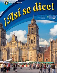 �As� Se Dice!   2012 (Student Manual, Study Guide, etc.) 9780076604265 Front Cover