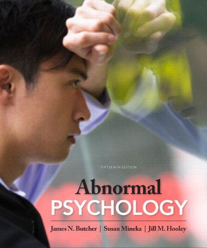 Abnormal Psychology Core Concepts 15th 2013 (Revised) edition cover