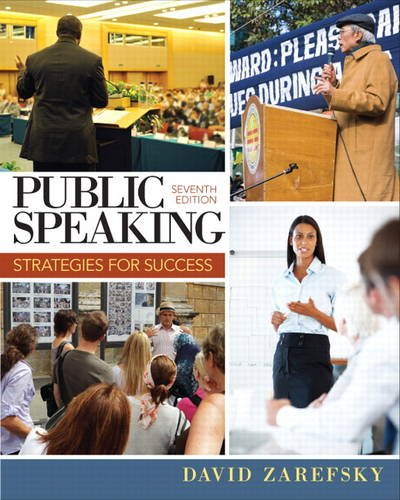 Public Speaking Strategies for Success 7th 2014 edition cover