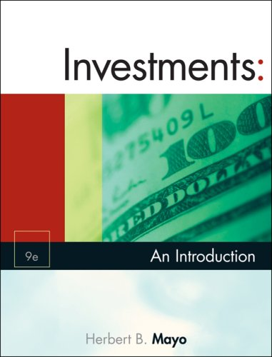 Investments An Introduction 9th 2008 edition cover