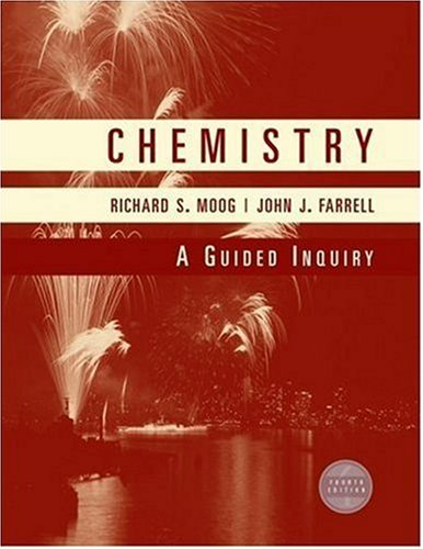 Chemistry A Guided Inquiry 4th 2008 edition cover
