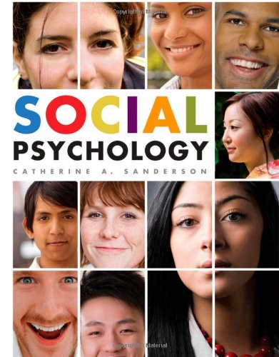 Social Psychology   2010 edition cover