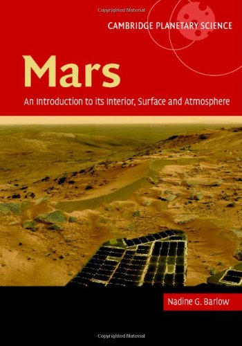 Mars An Introduction to Its Interior, Surface and Atmosphere  2007 9780521852265 Front Cover