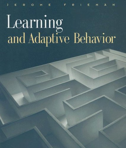 Learning and Adaptive Behavior   2002 edition cover