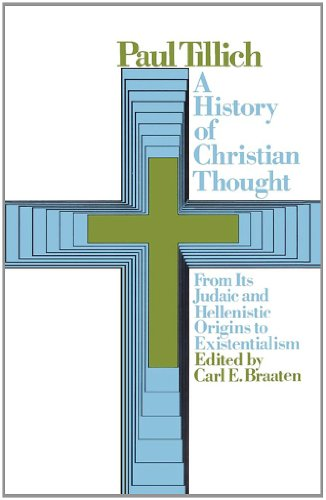 History of Christian Thought   1972 9780671214265 Front Cover