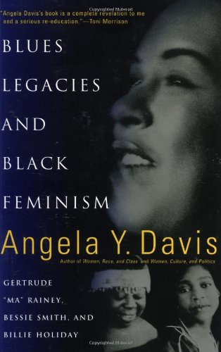 "Blues Legacies and Black Feminism Gertrude ""Ma"" Rainey, Bessie Smith, and Billie Holiday  1999 edition cover"